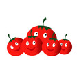 vegetables tomatoes vector image