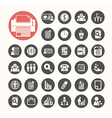 Business icons and Finance Icons set vector image