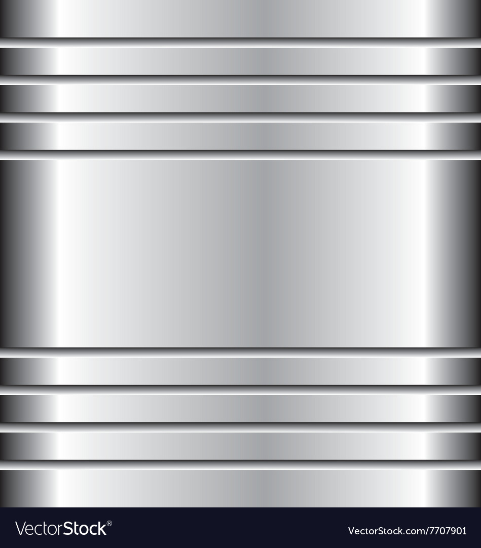 Metal abstract background aluminium and metal vector
