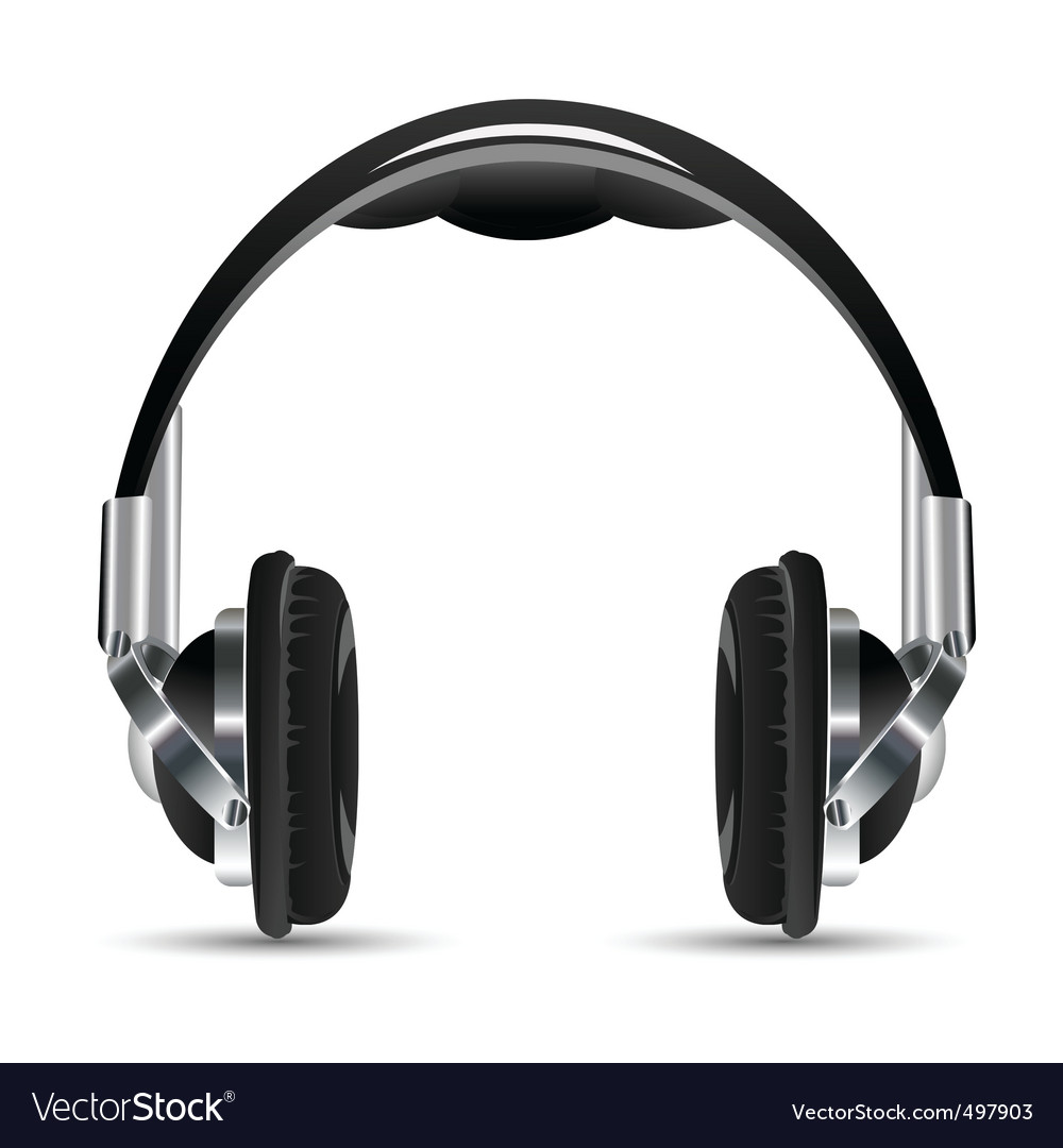 Headphone vector