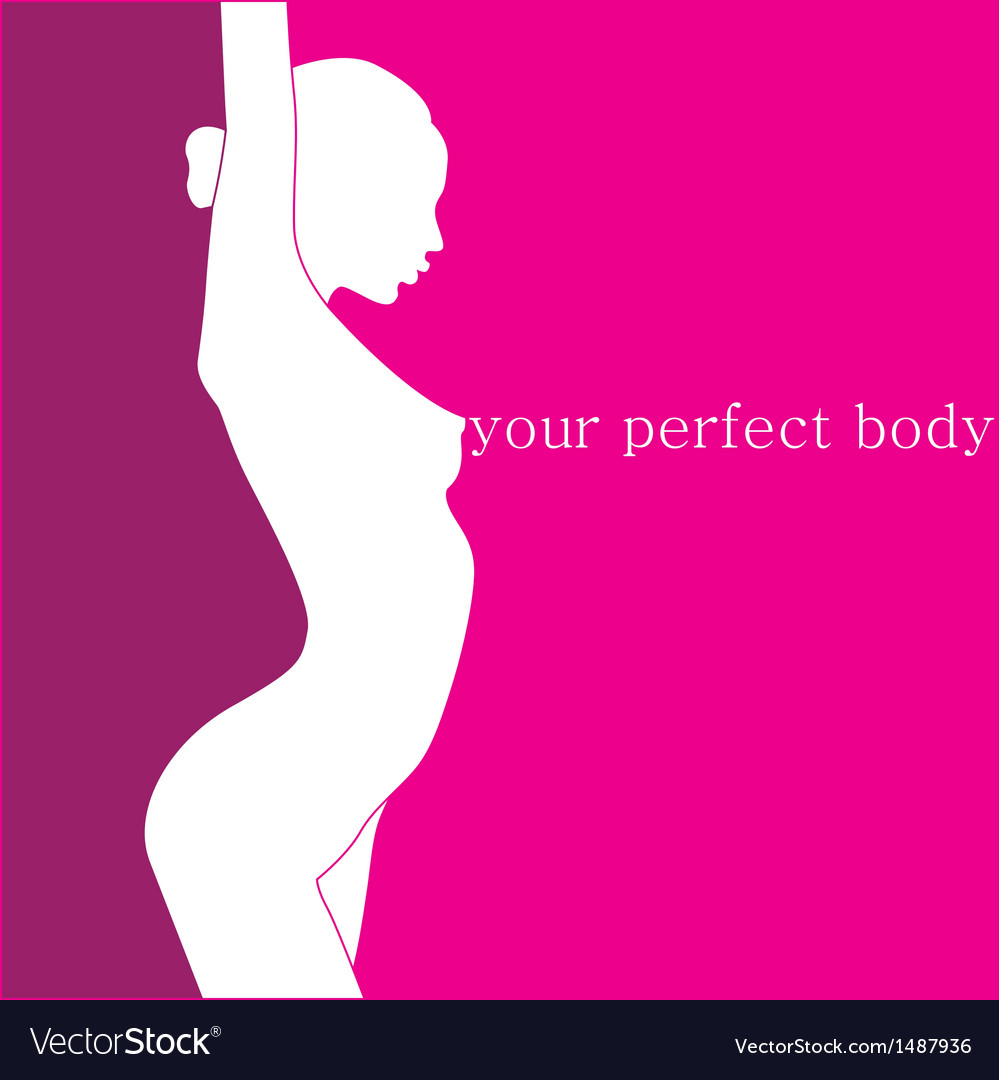 Your perfect body vector