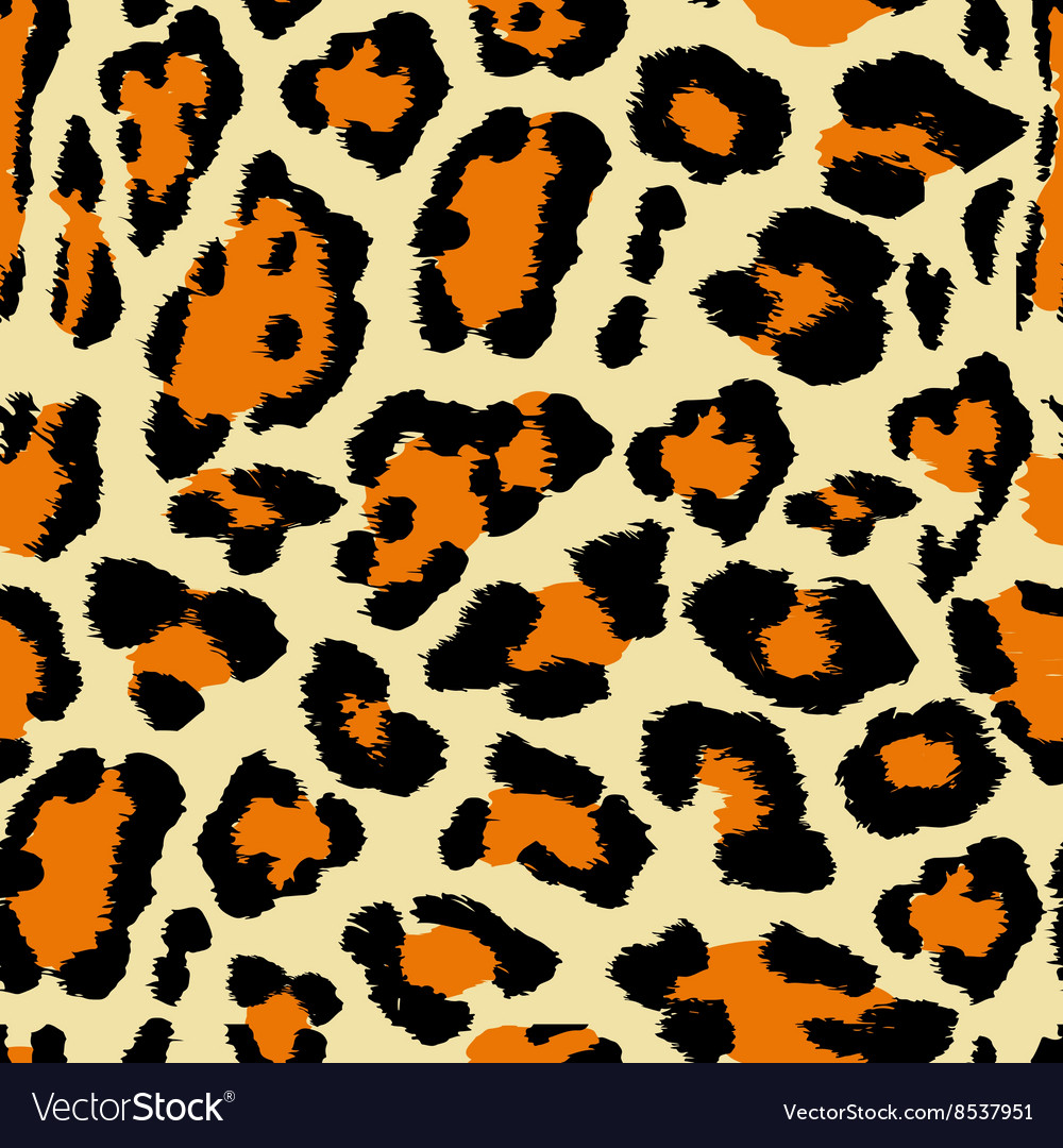 Leopard pattern a vector
