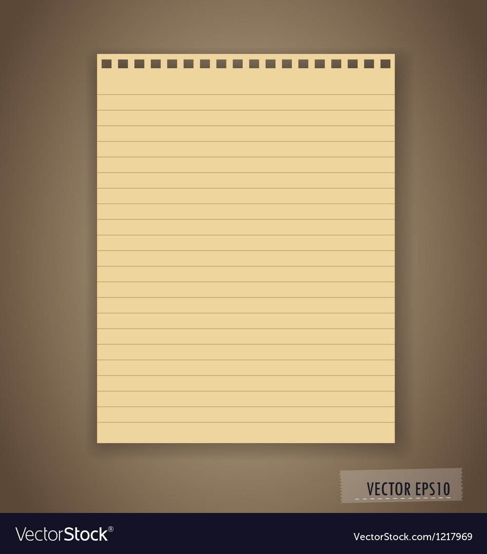 Paper ready for your text vector