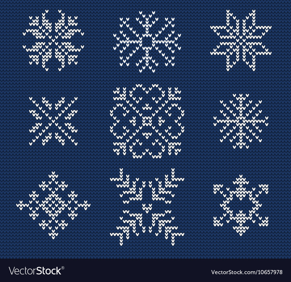 Ugly sweater seamless pattern vector