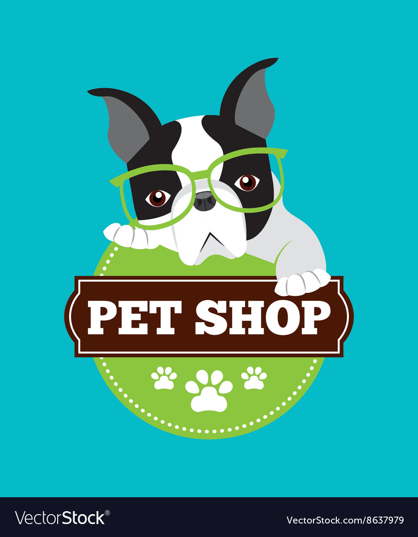 Pet service design vector