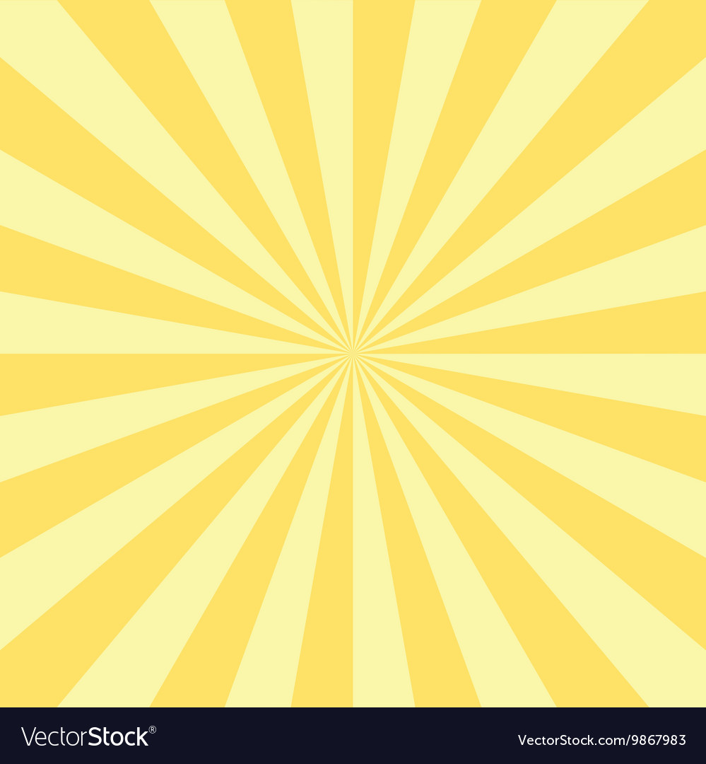 Abstract radial sun burst background vector
