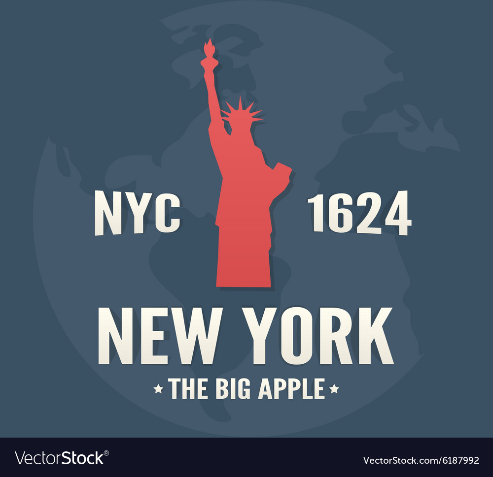 New york tshirt apparel fashion design vintage vector