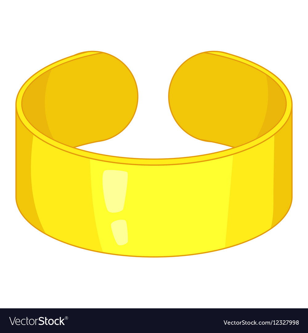 Bracelet icon cartoon style vector
