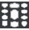 Frame Vintage Template vector image
