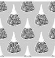 cosmetic seamless pattern nail polish vector image