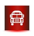 School Bus icon  solid vector image