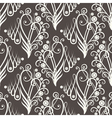 Seamless floral abstract ornament vector image