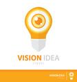 Vision idea vector image vector image