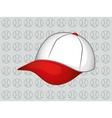 baseball hat cap vector image
