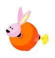 icon rabbit vector image vector image