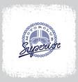 Superior label vector image