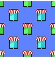 Mobile Store Seamless Pattern vector image