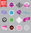 Collection of logos of better quality vector image