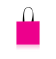 shopping bag design vector image