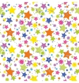 Seamless Background Stars vector image