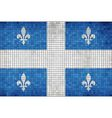 Flag of Quebec vector image