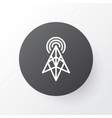 Antenna icon symbol premium quality isolated vector image