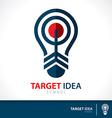 Target idea vector image