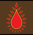creative diwali greeting or banner design vector image