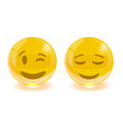group of smiley emoticons emoji vector image