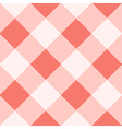 Peach Echo White Diamond Chessboard Background vector image