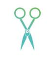 contour medical scissors equipment design vector image
