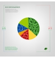 diagram Infographics Bio vector image