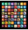 Flat design gumshoes vector image