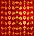 royal gold pattern vector image vector image