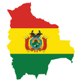 Bolivia Flag vector image vector image