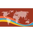 worldwide vector image vector image