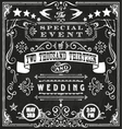Wedding Invite 4 vector image