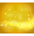 Golden abstract background vector image