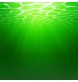 Abstract Underwater background Water waves vector image