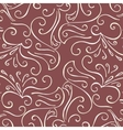 Luxury background with vintage pattern vector image