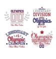 Fan Art Olympics vector image
