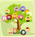 Family tree vector image