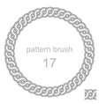 ancient pattern curls decor vector image