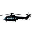 heilicopter - vector image