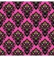 Damask flower seamless design vector image