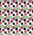 Seamless round circle patternseamless patterns vector image