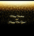 happy new year postcard vector image