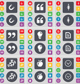 Magnet Quotation mark Silhouette Quotation mark vector image