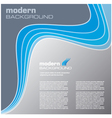 blue modern background vector image vector image