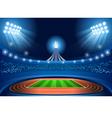 Stadium Background 2016 Summer Games vector image